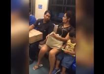 Mujer enfrenta a un hombre que la acosa en el metro de Monterrey