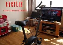 Conoce Cycflix: La bicicleta con la que bajarás de peso mientras ves tu serie favorita