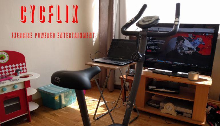 Mantenerse en forma viendo Netflix