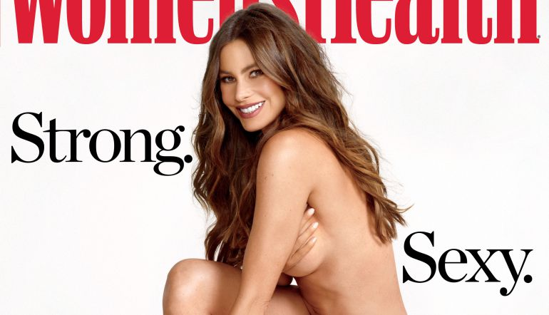 Modern Family, Ejercicio, Hollywood.: Sofía Vergara posa desnuda para la revista 'Women's Health'