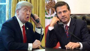 Trump pide a Peña no decir que México no pagará muro