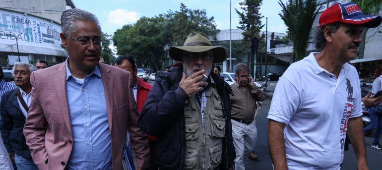 Reciben autoridades de Segob a la caravana Marcha por Morelos