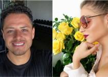"""""""Chicharito"""" Hernández confirma su romance con la actriz Andrea Duro"""