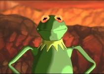 La rana Kermit se convierte en Super Saiyajin
