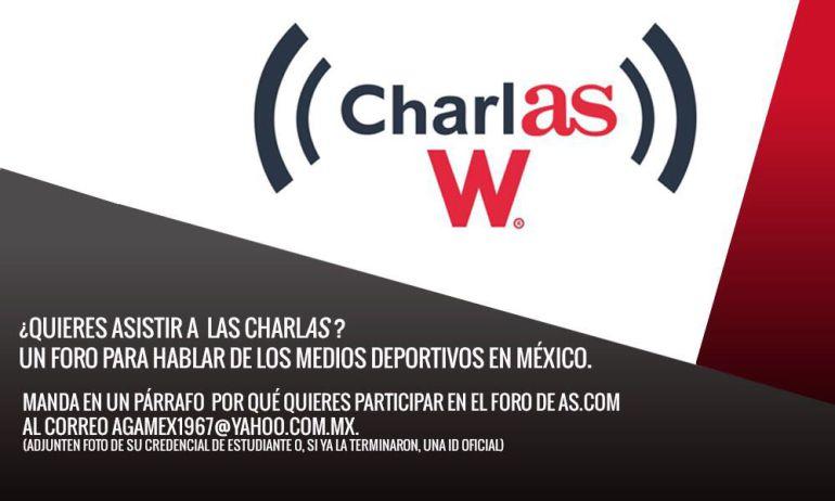 No te pierdas CharlAS W con Alejandro Gómez