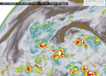 Avanza tormenta tropical Franklin hacia el Golfo de México