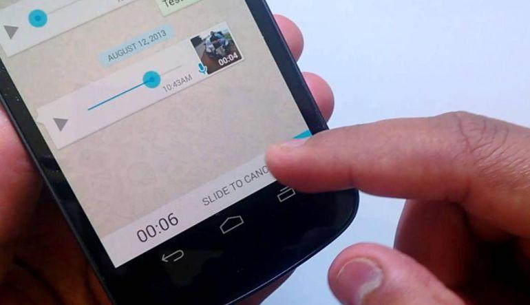 ¡Ya no dejarás presionado el botón para grabar notas de voz en WhatsApp!