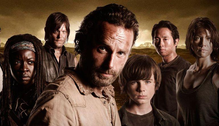 Filtran impactante video del rodaje de 'The Walking Dead'