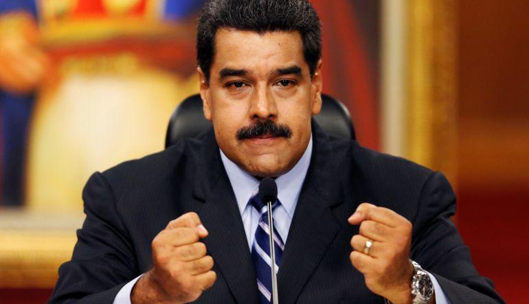 [Video] Maduro presenta ley que castiga con cárcel a los que expresen odio en las calles