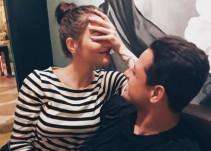 """Andrea Duro y """"Chicharito"""" presumen su noche juntos"""