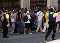El atentado en Barcelona en imágenes
