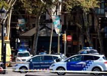 Videos tras el atentado en La Rambla en Barcelona