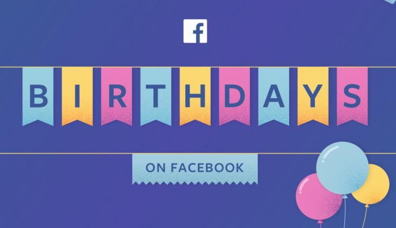 Facebook quiere que los saludos de 'Cumpleaños' sean más sinceros