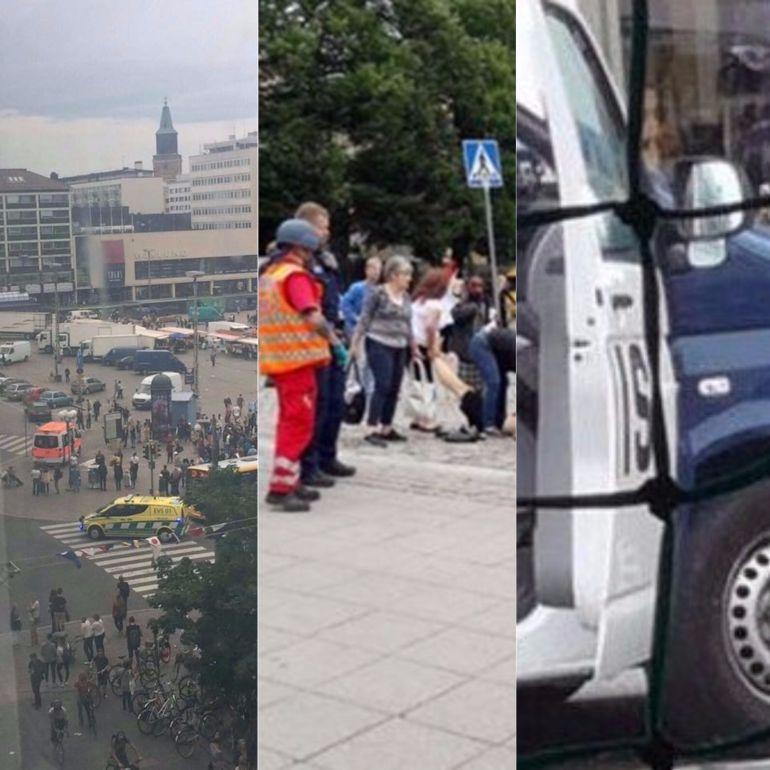 Apuñalamiento múltiple deja dos muertos y seis heridos en Turku, Finlandia