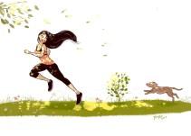Ilustradora refleja en esta serie la magia de ser soltero