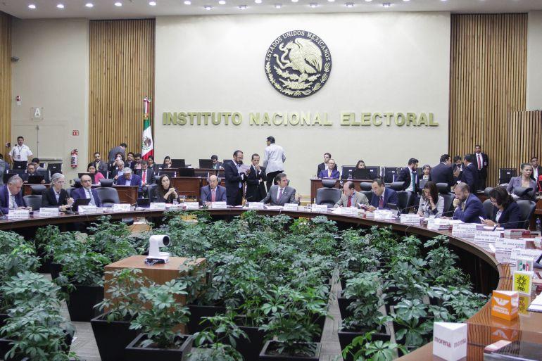 Aprueba INE presupuesto histórico a partidos políticos en un proceso electoral