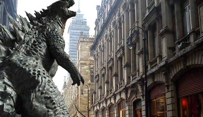 Godzilla invade la CDMX