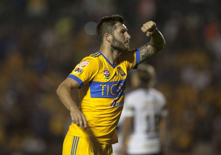 """Tigres UANL: André-Pierre Gignac conoce a su """"tocayo"""": un tigre de Bengala"""