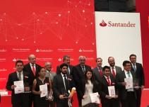 Entregan Premios Santander 2017 a la Innovación Empresarial