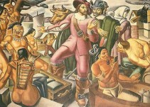 "Descubren un ""smartphone"" en pintura de 1937"