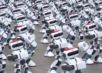 1069 robots bailarines rompen Récord Guinness en China