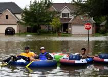 Trump evalúa daños ocasionados por Harvey