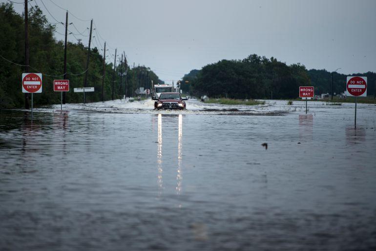 Harvey toca tierra por segunda vez, ahora en Louisiana