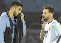 Suárez y Messi apoyan la candidatura conjunta de sus países para el Mundial en 2030