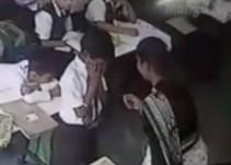 Maestra golpea a su alumno 40 veces en dos minutos