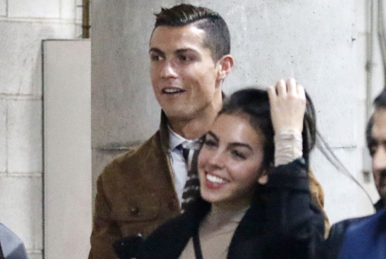 Cristiano Ronaldo: Georgina Rodríguez presume foto con el hijo de Cristiano Ronaldo
