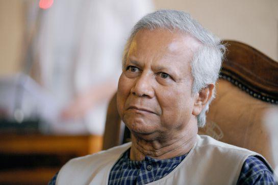 Muhammad Yunus, el Premio Nobel de la Paz del año 2006