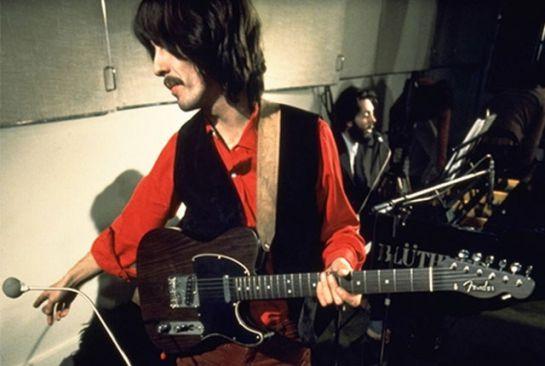 George Harrison, Fender: Fender lanza guitarra edición limitada de George Harrison