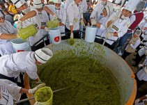 México hizo el guacamole más grande del mundo