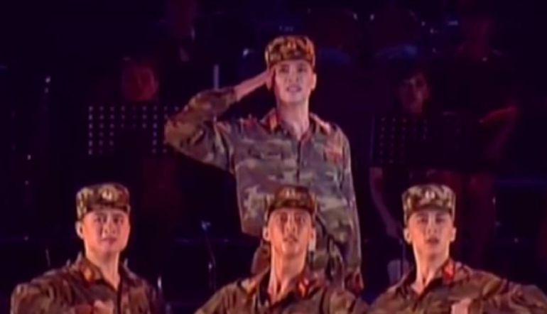 [Video] Así bailan los soldados de Corea del Norte