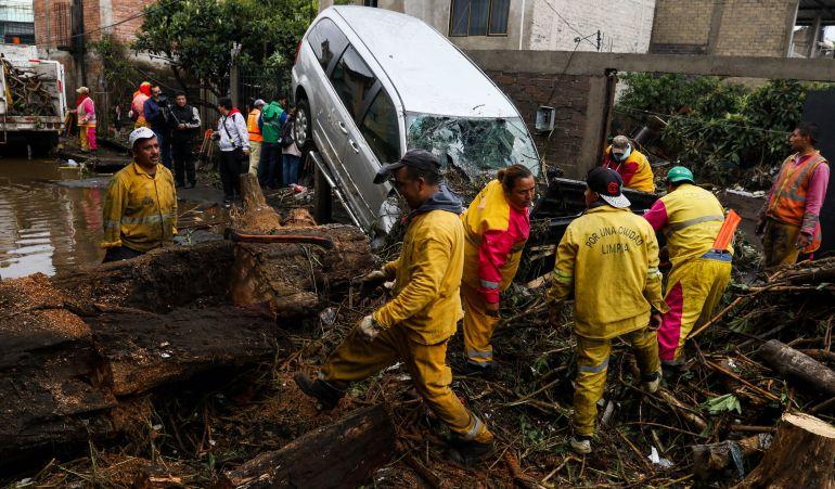 lluvias, inundaciones, Ciudad de México: Atiende gobierno capitalino a afectados por fuertes lluvias en la CDMX