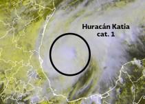 Huracán 'Katia' y Frente Frío No. 2 causarán tormentas en el noreste, centro, oriente y sur del país