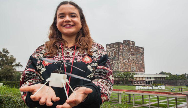 NASA, mexicana, marte: Estudiante de la UNAM participó en proyecto de la NASA