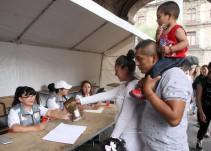 Se abren centros de acopio para ayudar a los damnificados por el sismo
