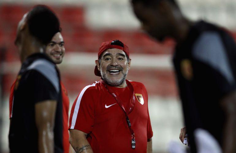 Maradona, Instagram: Maradona abre su cuenta de Instagram