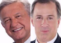El contraste entre López Obrador y Meade