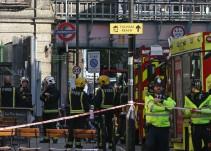 Posible atentado terrorista en metro de Londres