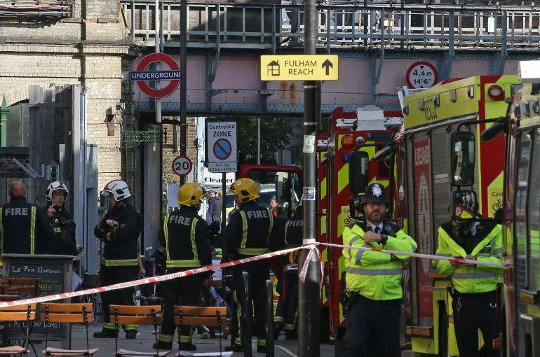 Atentado Londres 2017: Posible atentado terrorista en metro de Londres