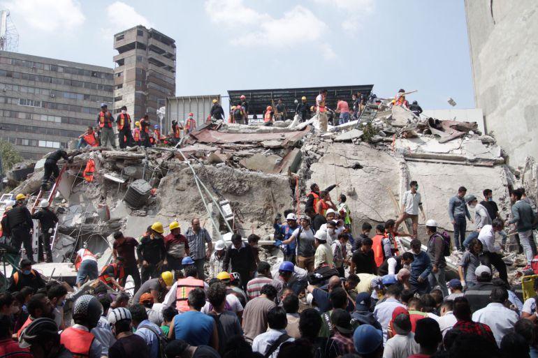 Noticias en vivo: Solidaridad internacional con México tras sismo