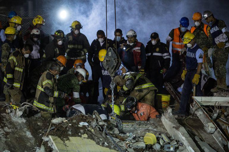 Los 5 sismos más grandes en México