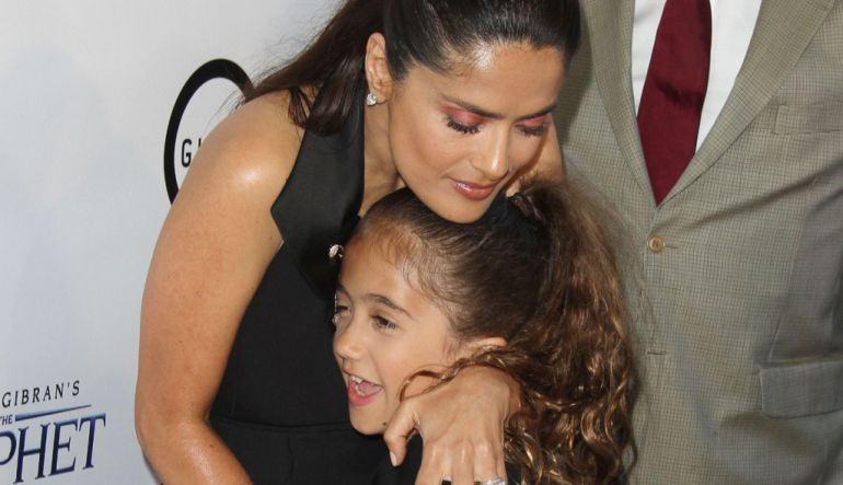 Salma Hayek, mexicano, cumpleaños: Salma Hayek celebra cumpleaños de su hija de manera especial