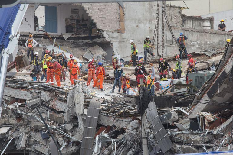 """sobreviviente, sismo, 19 de septiembre: """"No llegué ni a la puerta cuando todo se desplomó"""": Lucía, sobreviviente"""