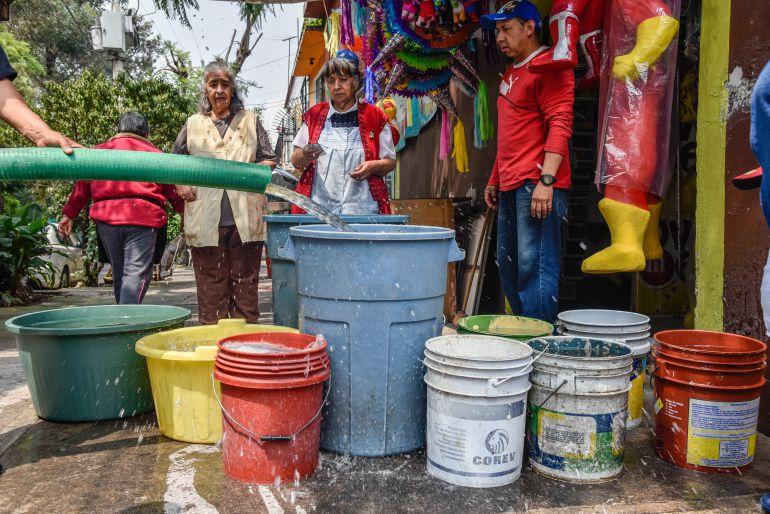 agua, Iztapalapa, Dione Anguiano: 900 mil personas sin agua en Iztapalapa por temblor: Dione Anguiano