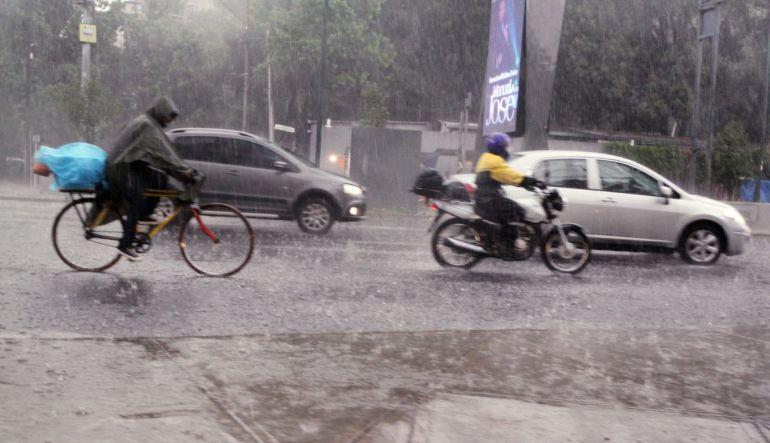 Clima hoy,27 septiembre 2017: Prevén tormentas fuertes en gran parte del país