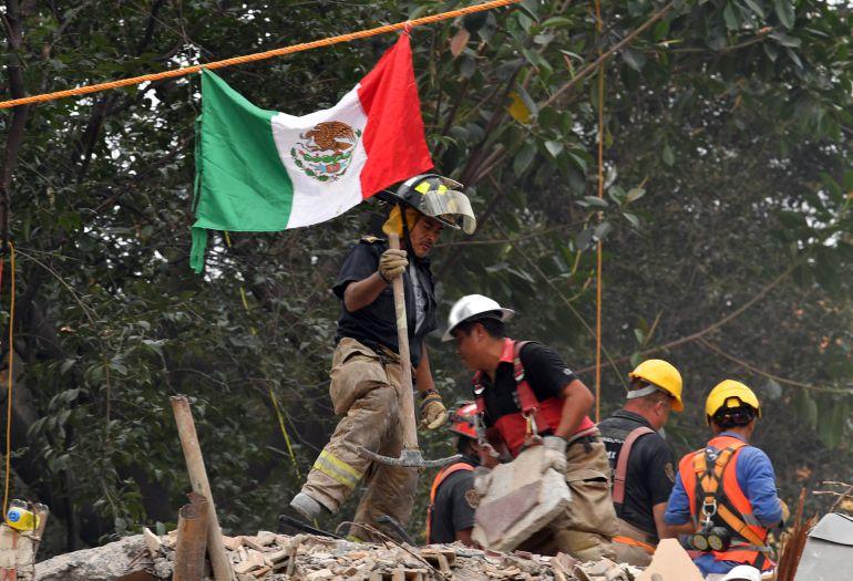 Apoyo a la reconstrucción de México tras terremoto