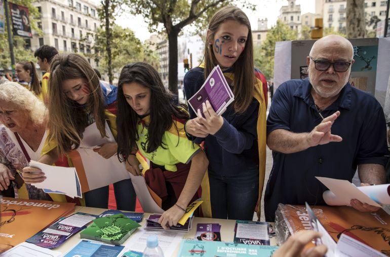 El referéndum ilegal por la independencia de Cataluña